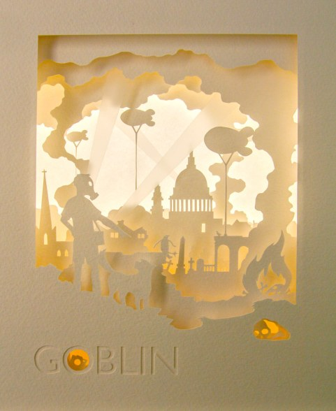 Goblin tunnel book