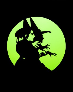 Wicked Witch of the West papercut card