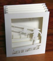 North by Northwest tunnel book - top view