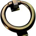 Antique Brass Ring Style Door Knocker Xl28