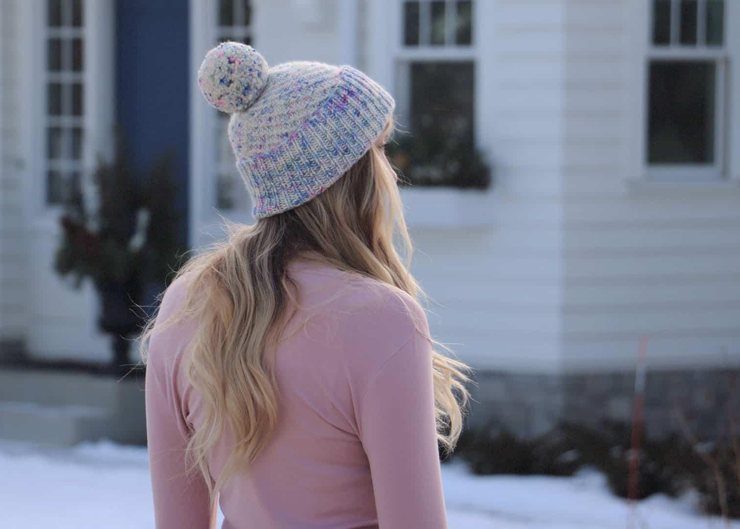 Swirled Sprinkles Hat Knitting Pattern Originally Lovely