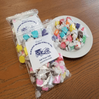 Assorted Salt Water Taffy 2lb (4 bags) includes shipping