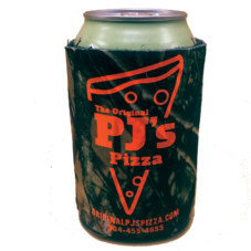 Original PJ's Pizza Logo Can Cooler