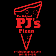 New Original PJ's Pizza Logo T-Shirt