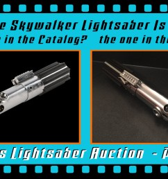 this is a part 3 follow up my part 1 and part 2 close up looks at the o riginal production used luke skywalker lightsaber from star wars episode iv a  [ 1400 x 788 Pixel ]