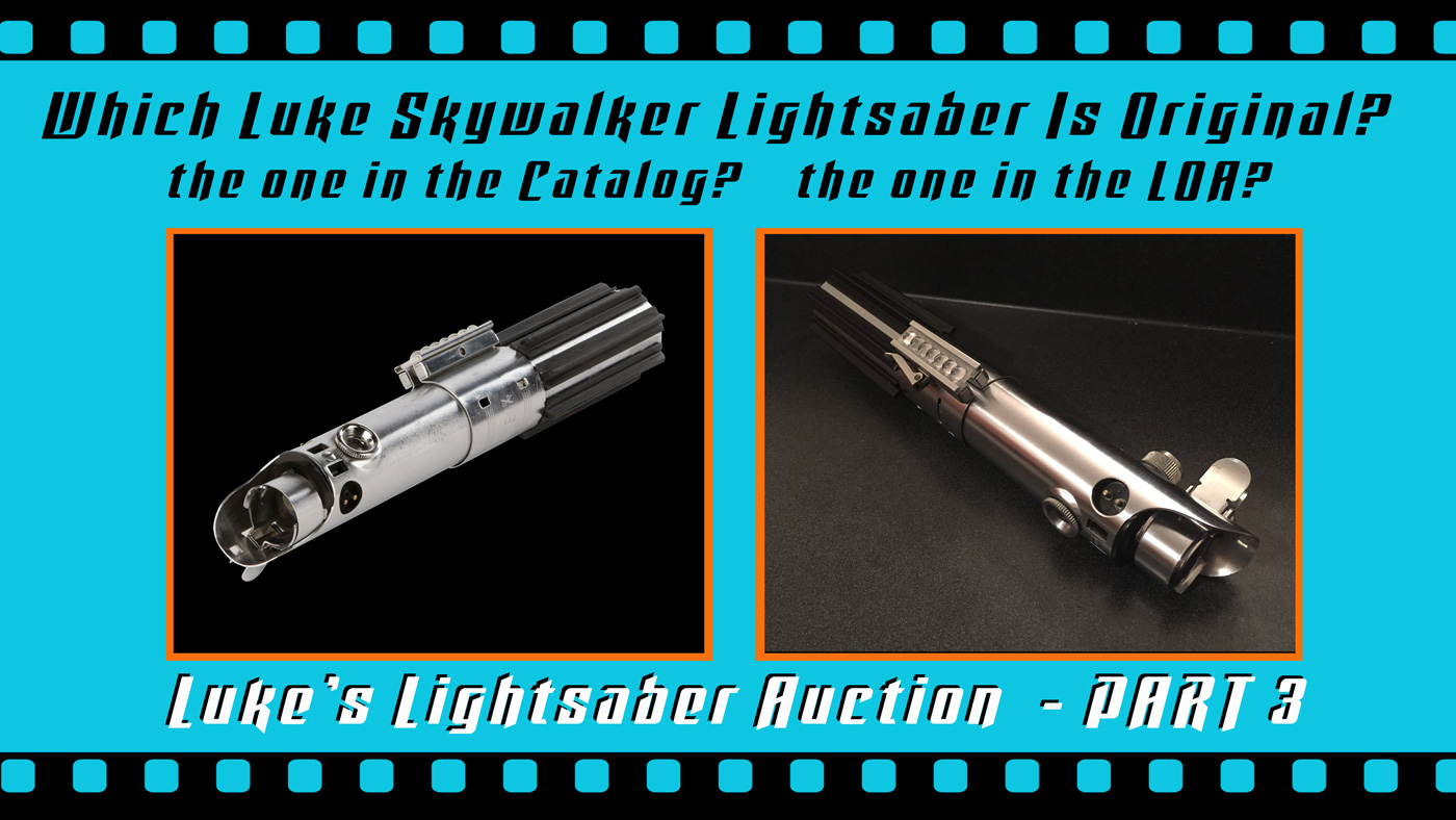 hight resolution of this is a part 3 follow up my part 1 and part 2 close up looks at the o riginal production used luke skywalker lightsaber from star wars episode iv a