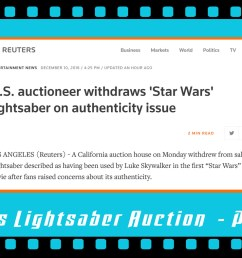 this is a part 5 follow up my part 1 part 2 part 3 and part 4 close up looks at the o riginal production used luke skywalker lightsaber from star  [ 1400 x 788 Pixel ]