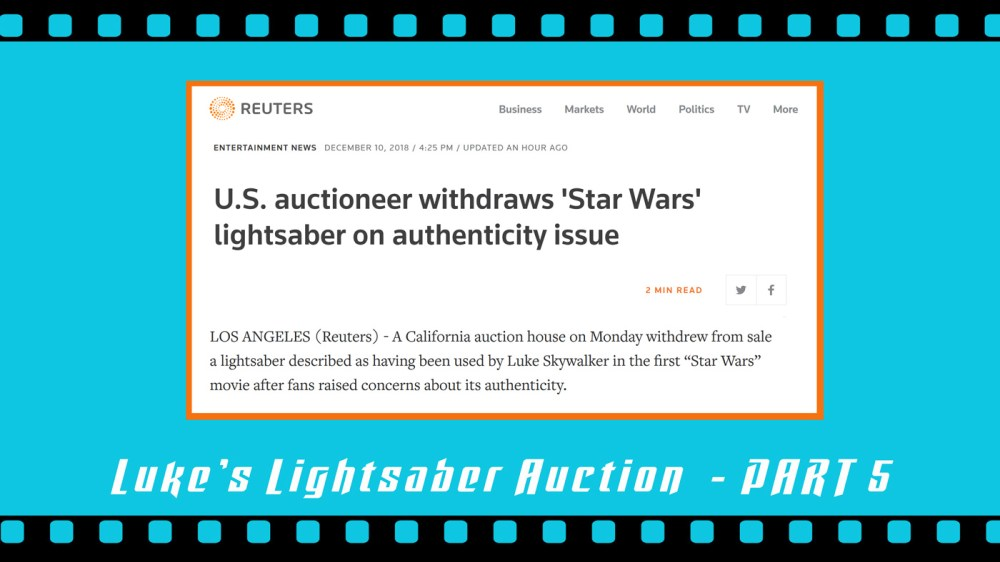 medium resolution of this is a part 5 follow up my part 1 part 2 part 3 and part 4 close up looks at the o riginal production used luke skywalker lightsaber from star