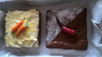 With special decorations (yes, that chilli dipped in chocolate is real!)