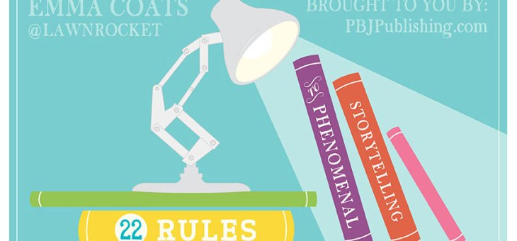INFOGRAPHIC: 22 Rules of Storytelling