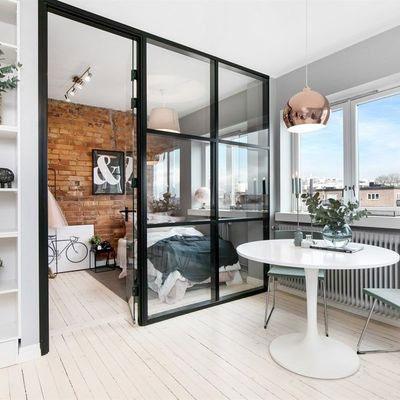 Divisria de vidro para cozinha e sala  Original System RP
