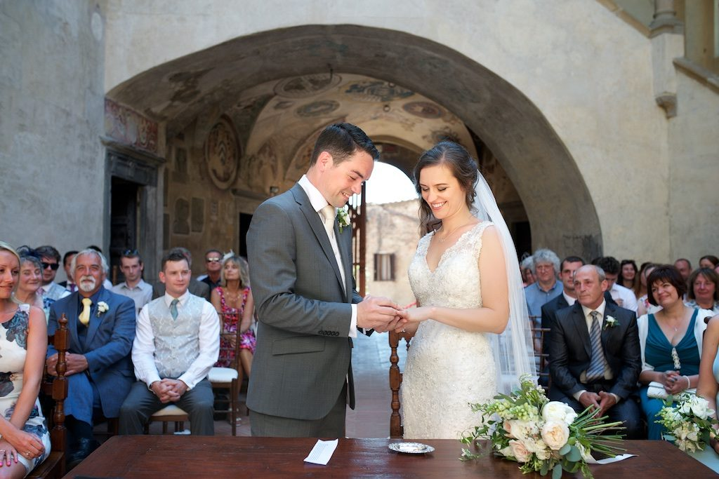Laine & David wedding in Tuscany