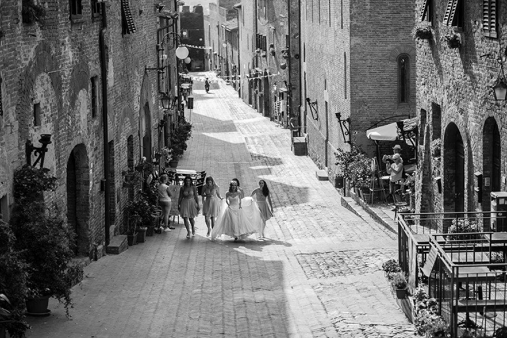 Amy & Steven wedding in San Gimignano