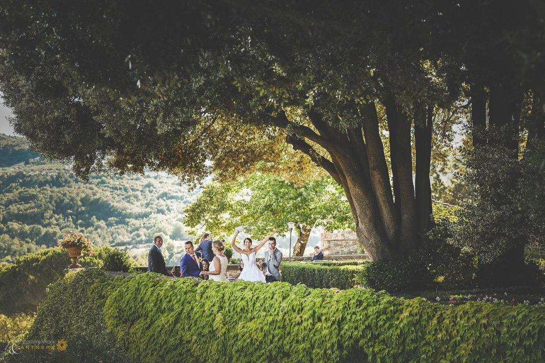 a wedding in tuscany