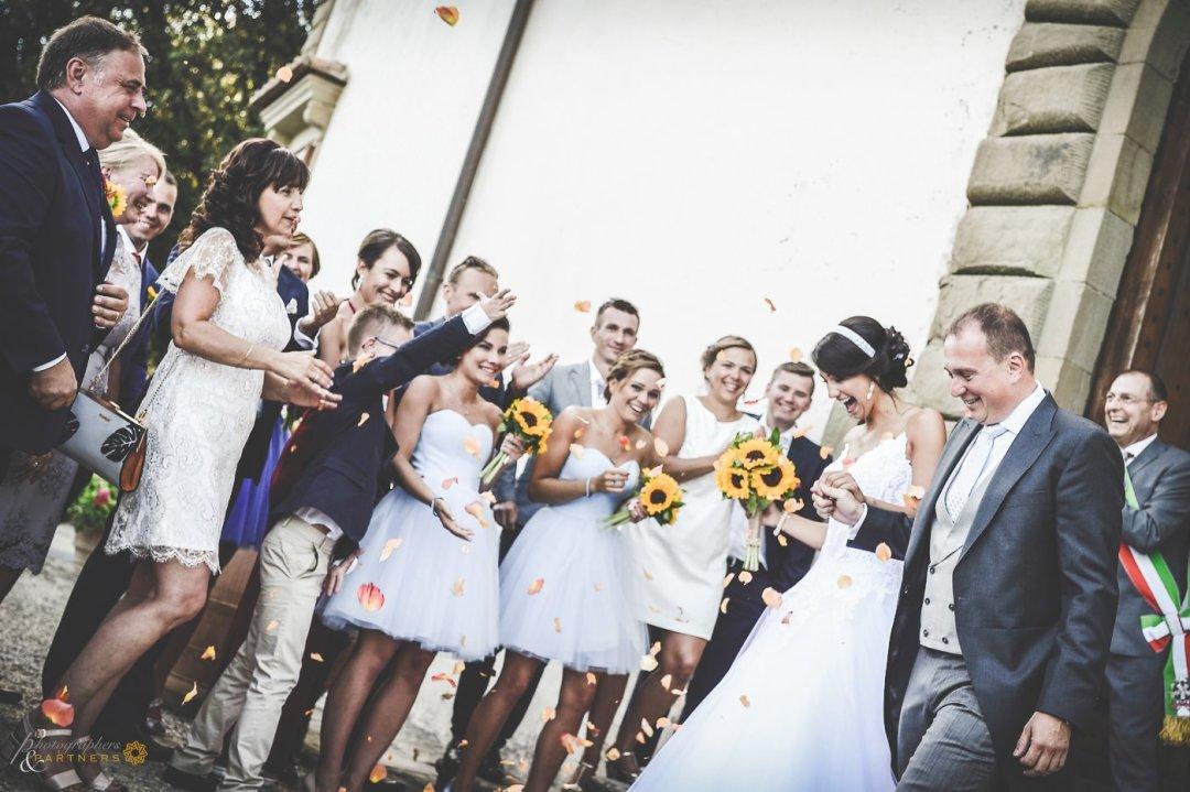 Martyna & Piotr wedding at Castello Vicchiomaggio