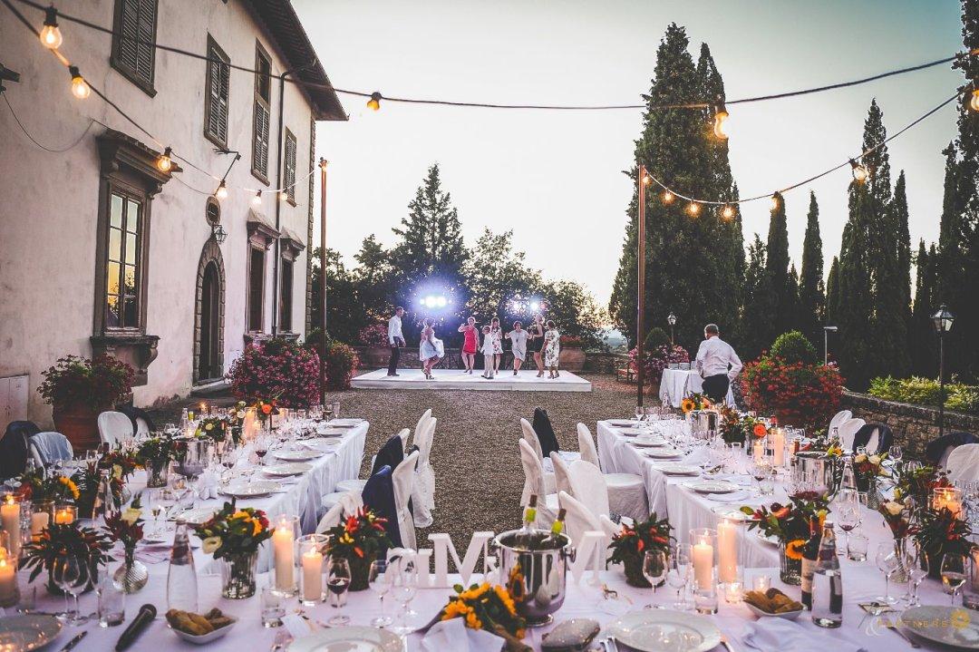 Al Fresco Tuscan Wedding Dinner