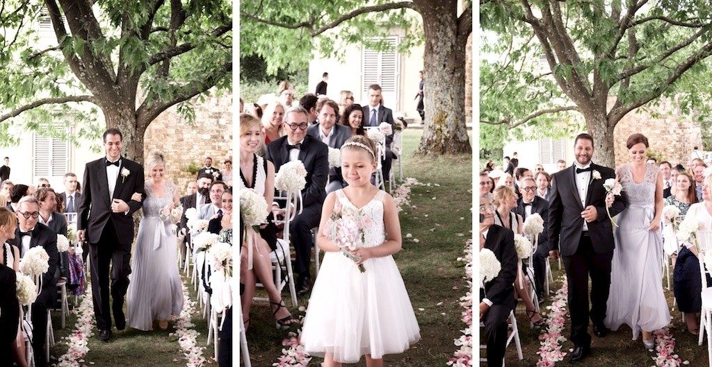Lucy & Pierre tuscan wedding