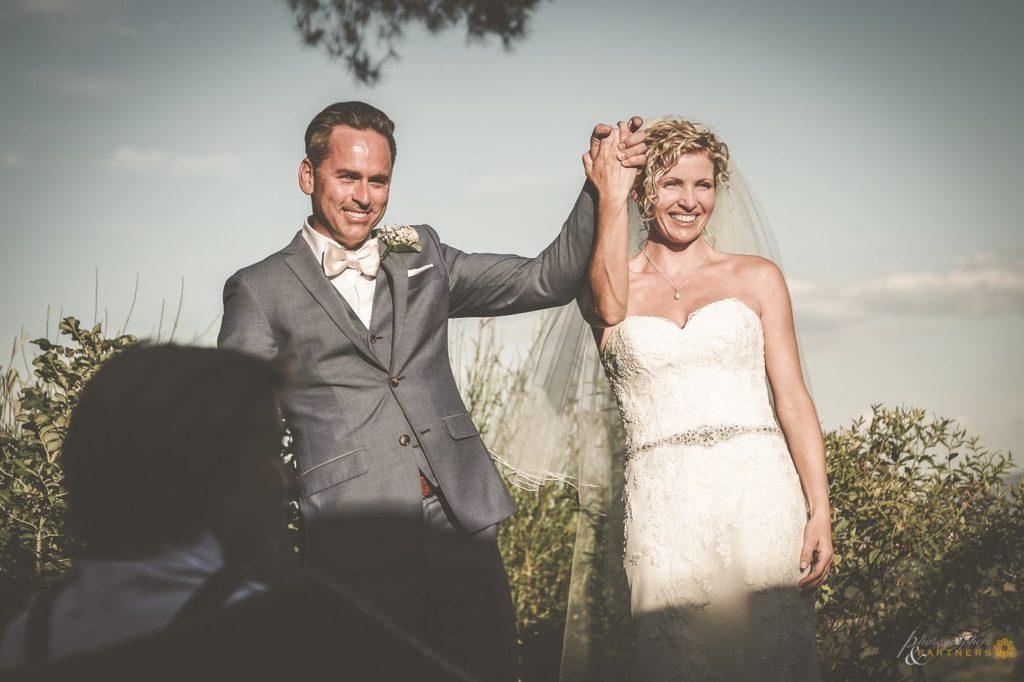 Carine & Frederic wedding at Poggio Piglia