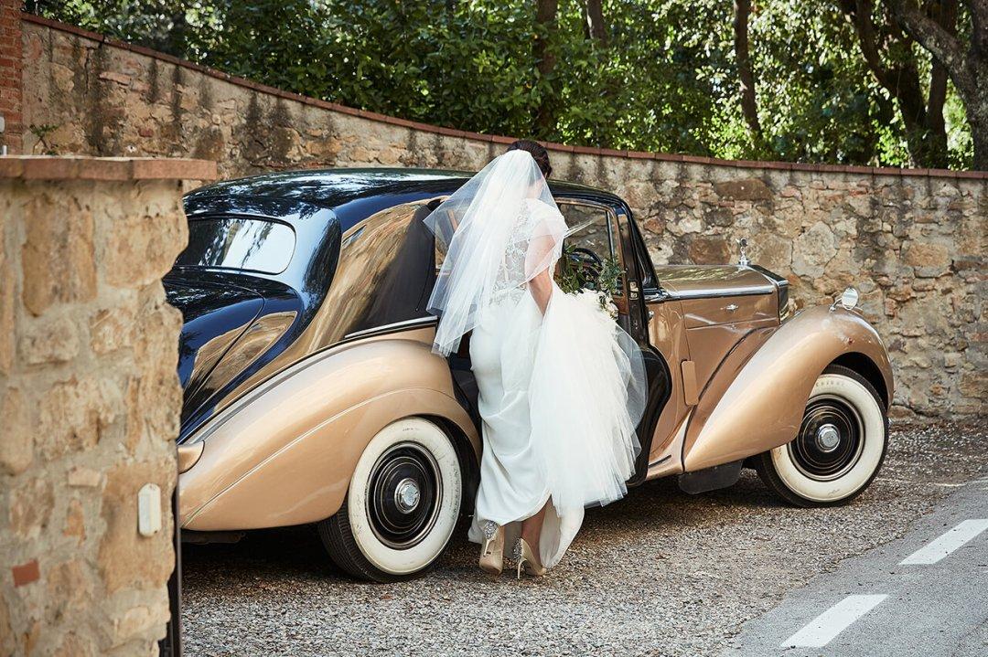 Rolls Royce Wedding Tuscany