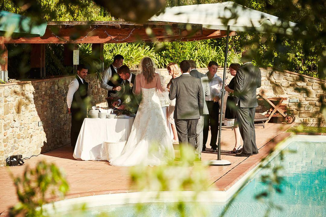wedding tuscany reception