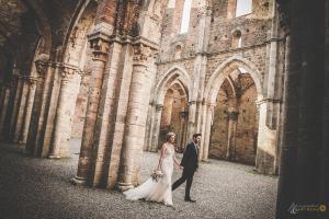 Intimate Wedding at San Galgano Abbey