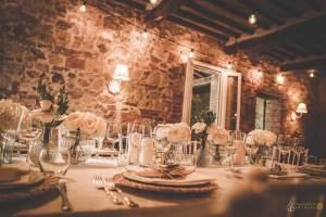 wedding reception in Tuscany