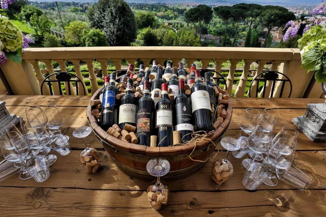 wines wedding tuscany
