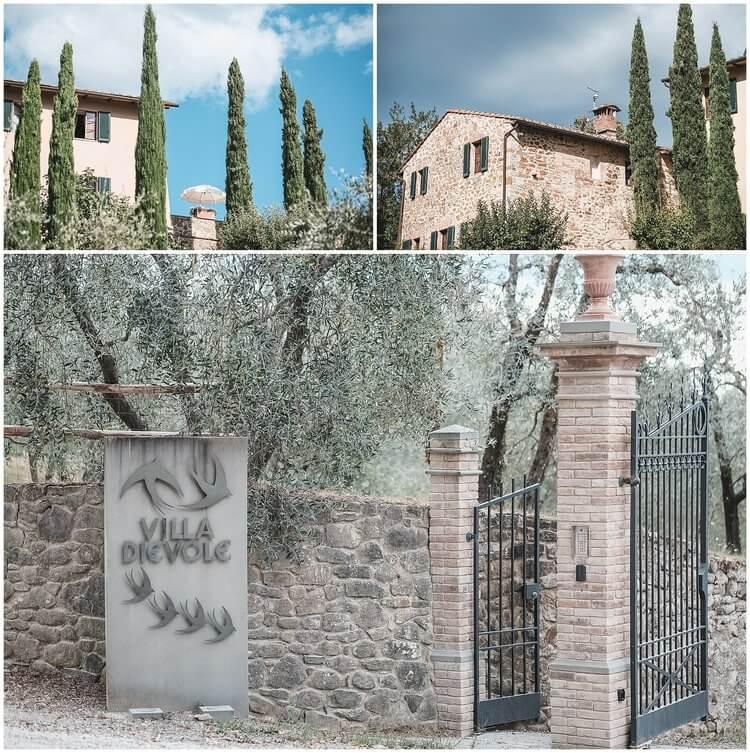 wedding venues villa dievole tuscany