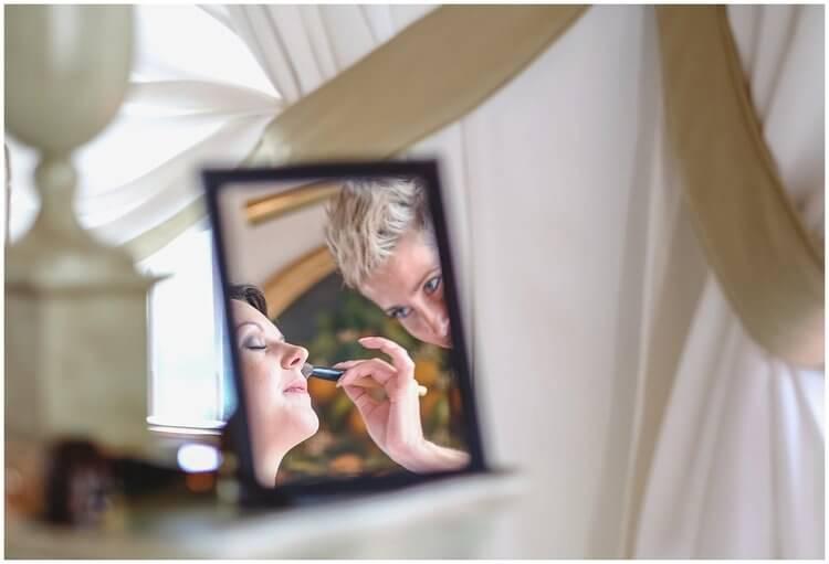 bride make up wedding tuscany