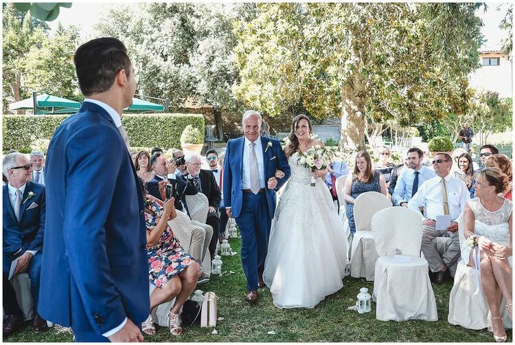 Claire & Nathan wedding in Tuscany