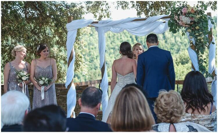 Claire & Nathan wedding at Villa Dievole