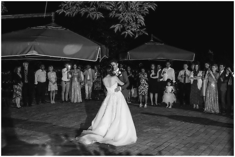 romantic first dance tuscany