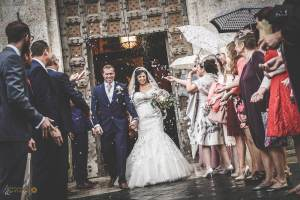 intimate celebration in Tuscany