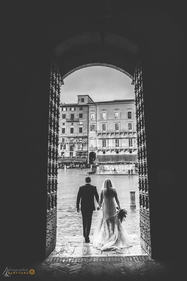 wedding location Piazza del Campo Tuscany