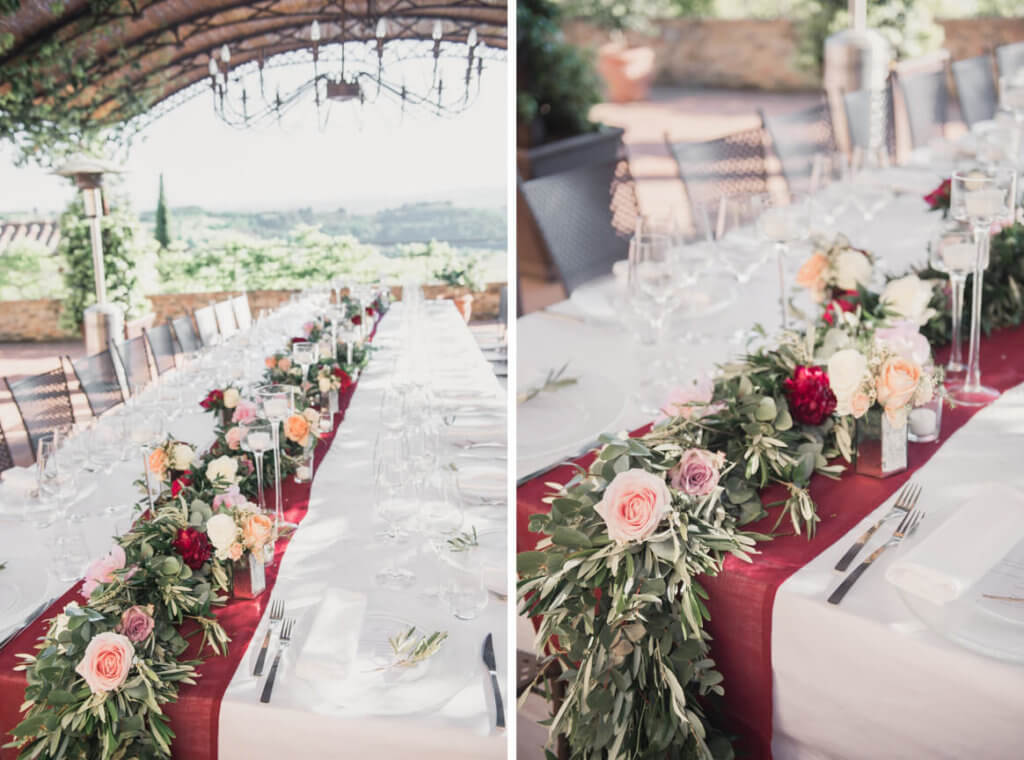 exclusive wedding in tuscany
