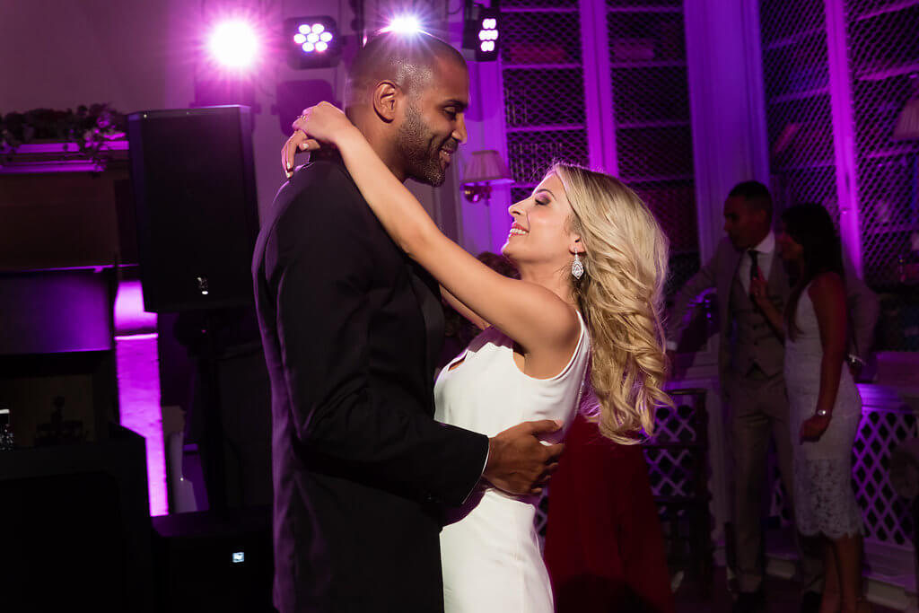 Kristina & Jerome have a romantic first dance
