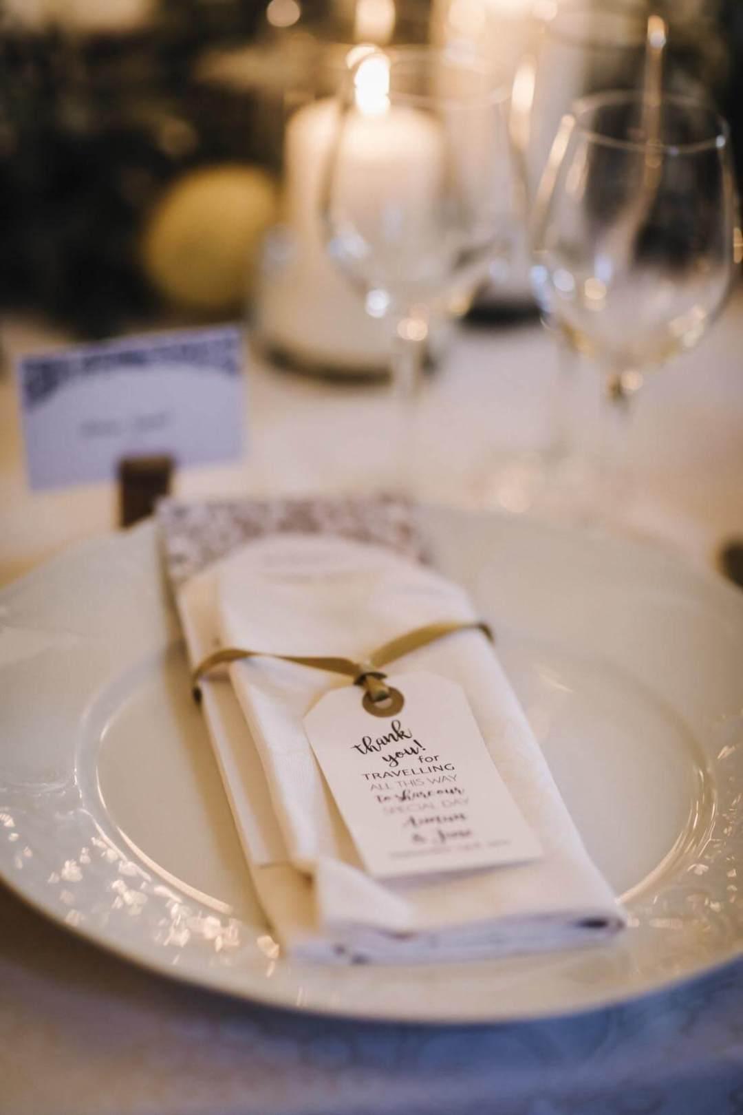 Table Decor For Jane & Aimun Wedding