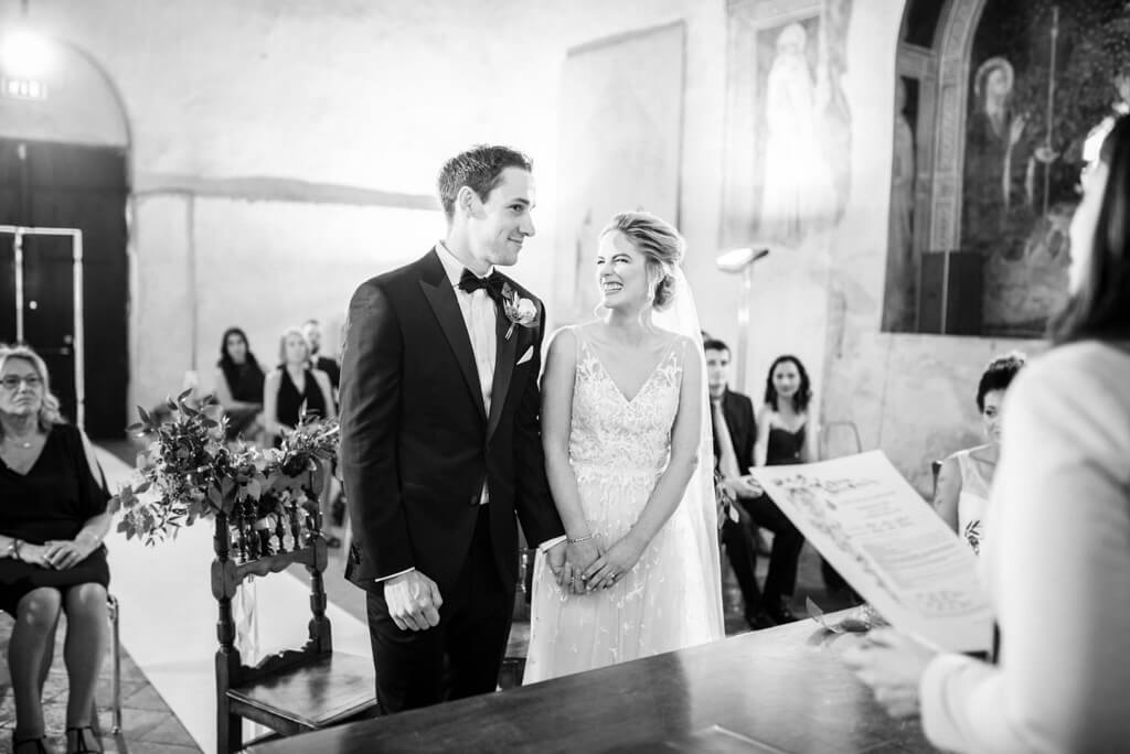 Jules & Jake wedding in deconsecrated church of St. Thomas