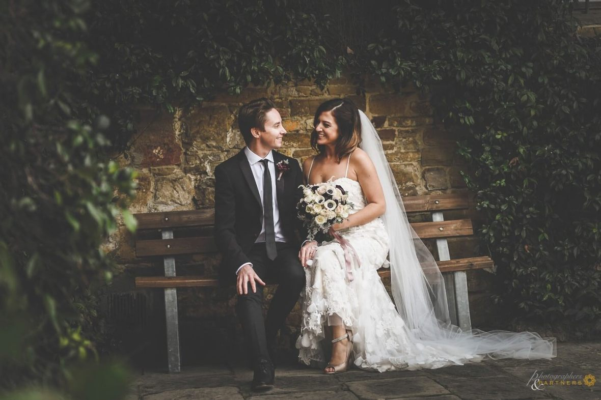 romantic wedding just for two in Florence