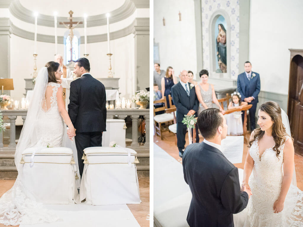 religious wedding in Tuscany