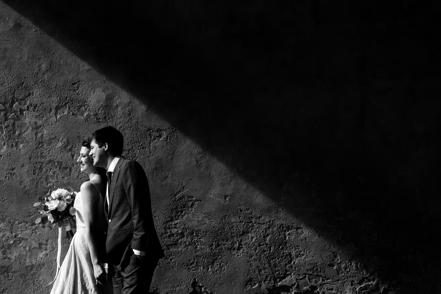 intimate wedding ceremony in Tuscany