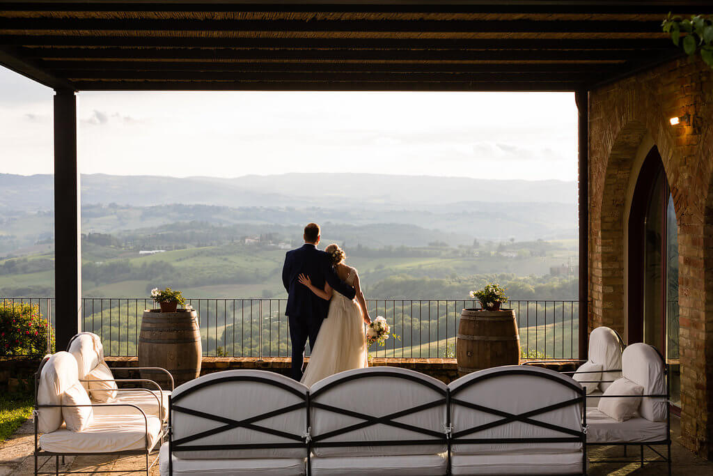 luxury wedding villa in Tuscany