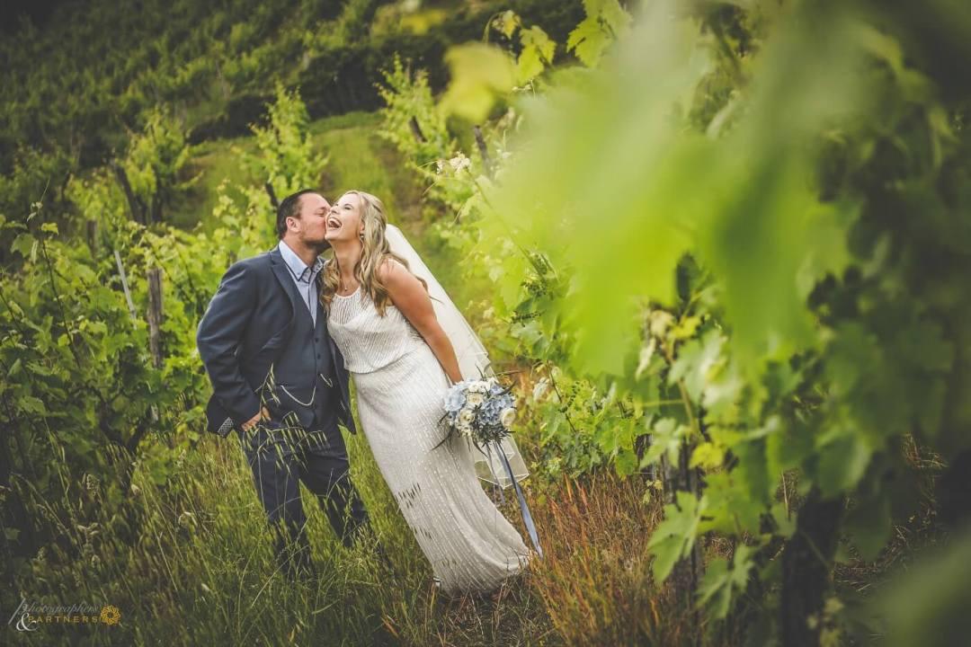 Wedding in a Vineyard in Tuscany
