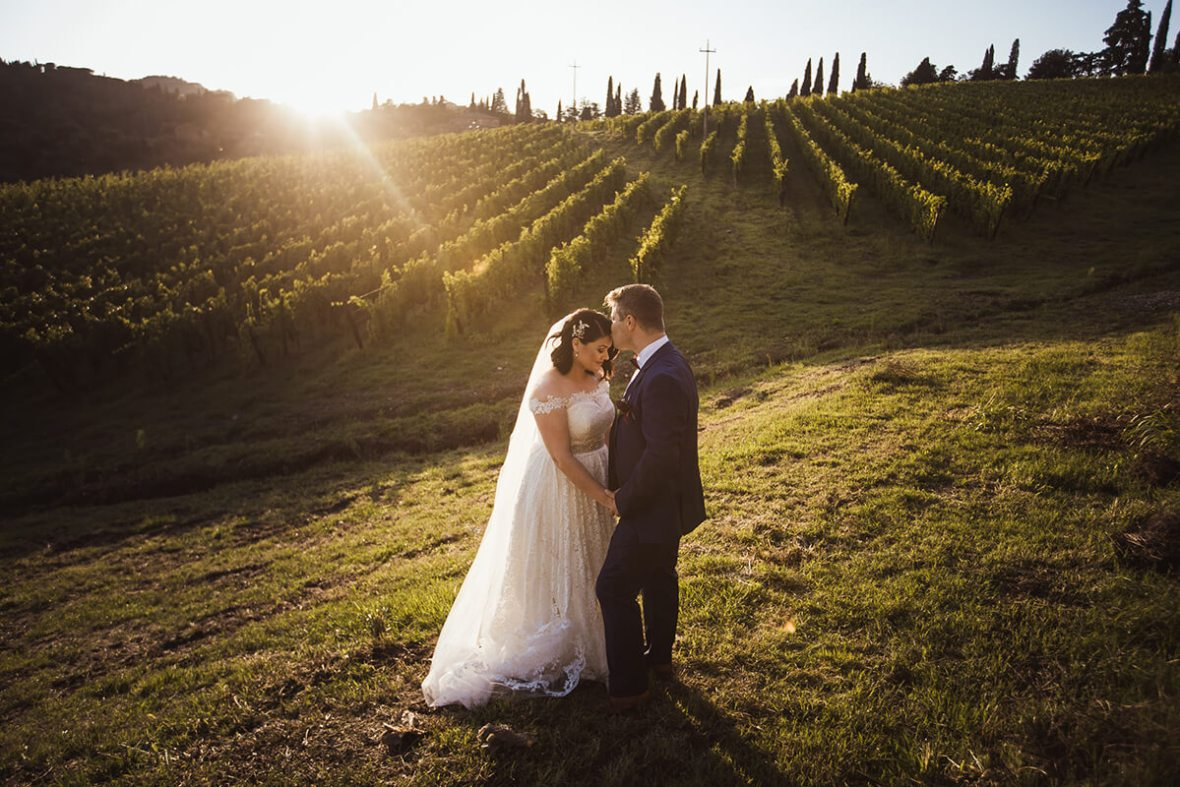 Tuscan wedding planner