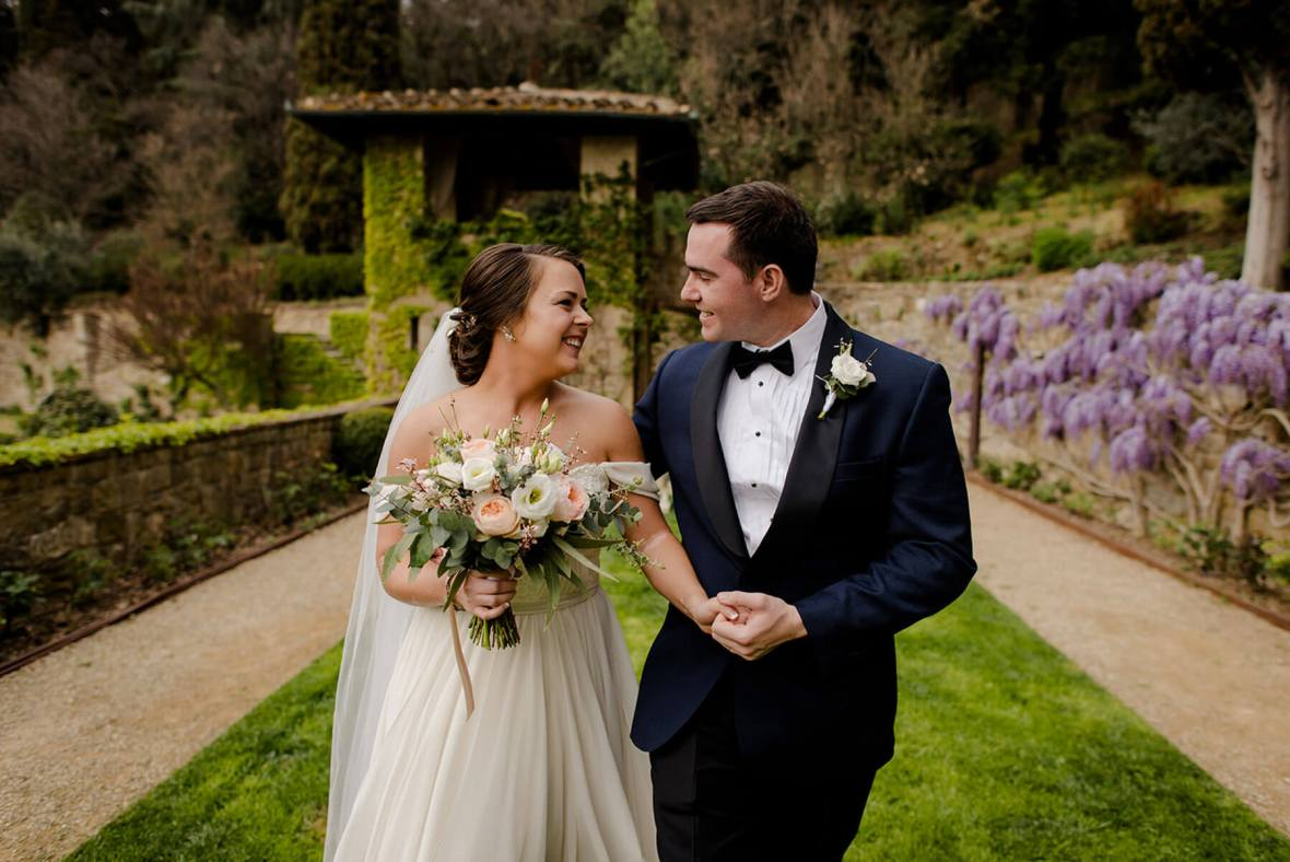 Allison & Michael elope in Florence for their wedding