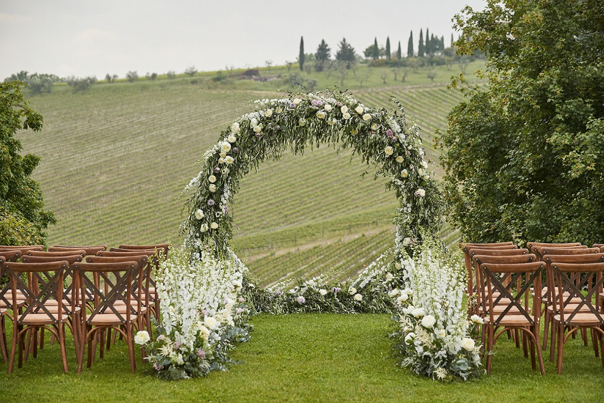 Wedding planner in tuscany