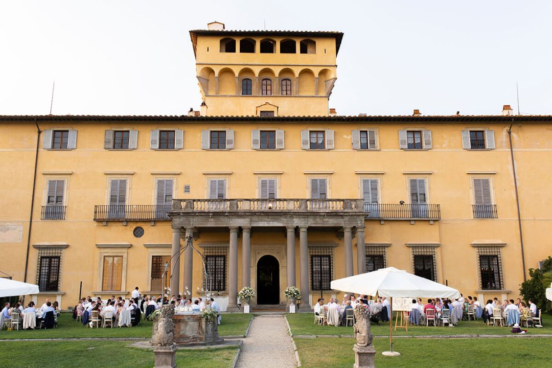 Ceremony at Villa di Maiano
