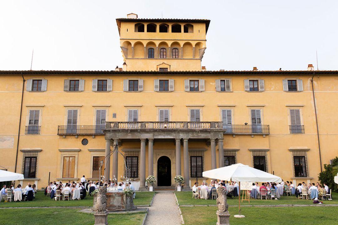 Ceremony at Villa di Maiano