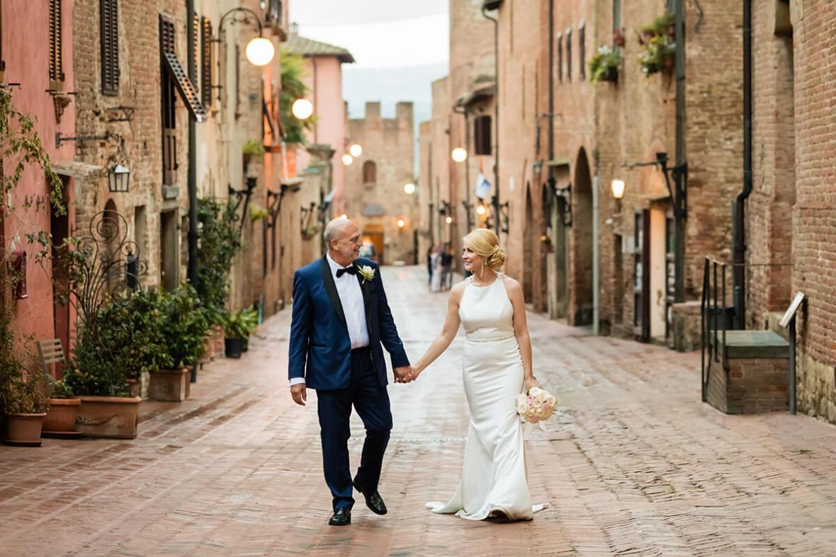 Certaldo town hall wedding