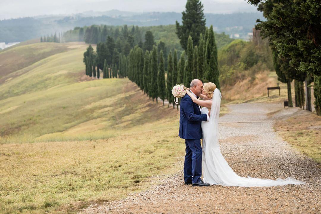 wedding Tuscan countryside
